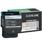 Lexmark Black Return Program Toner Cartridge (1000 Pages) For C540n/C543dn/C544dn/C544dtn/C544dw/C544n