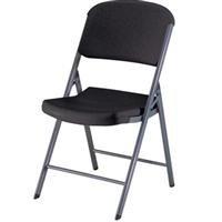 Lifetime Commercial Contoured Folding Chair 32 Pack , Color: Black.