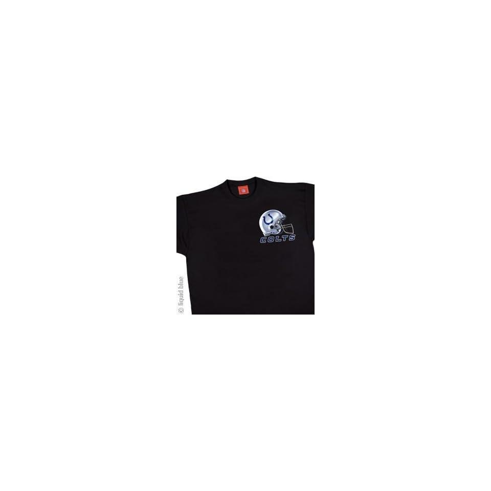 Indianapolis Colts Sky Helmet T Shirt