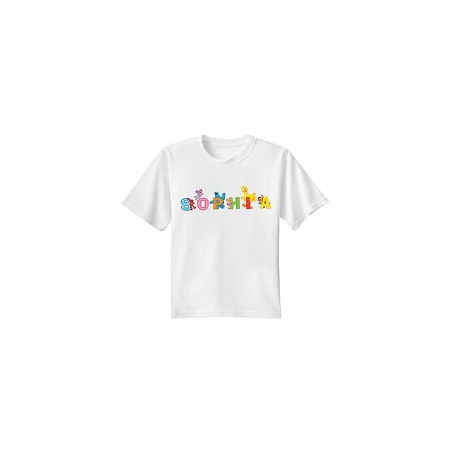 Personalized Sesame Street Characters Name T Shirt