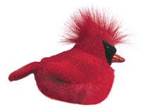 Plush Animal: Cardinal