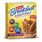 Carnation Breakfast Essentials Classic Chocolate Malt Powder Drink Mix, 12.6 Ounce -- 6 per case.