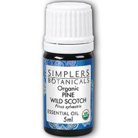 Essential Oil Pine Wild Scotch Organic Simplers Botanicals 5 ml Liquid