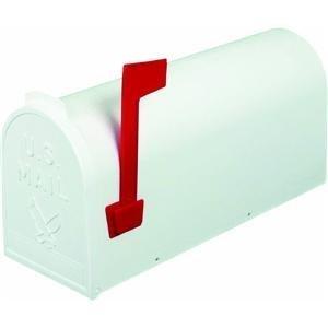 Flambeau-T-R4503WT-Standard-Classic-Mailbox-Rural-Style-1-White