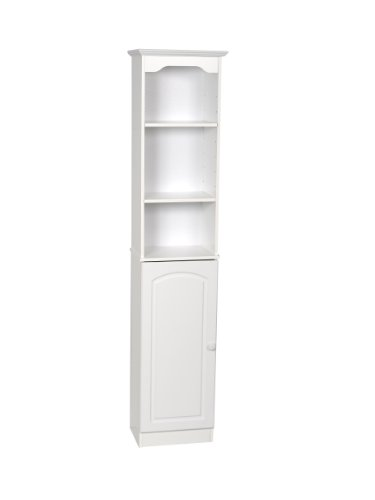 Buy Discount Zenith Products E9647W Hartford Linen Tower, White