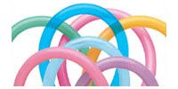 Qualatex 160Q Twister Balloons, Vibrant Assortment - Pack of 100 from Pioneer Balloon Company