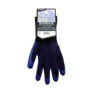 Magid Glove (MGL508WTL) Navy Blue, Winter Knit, Latex Coated Palm Gloves - Large