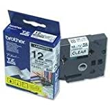 Brother TZe 131 - Laminated tape - black on clear - Roll (1.2 cm x 8 m) - 1 roll(s) TZ131 (TZE131)