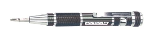 Maxcraft 60609 7-In-1 Precision Pocket Screwdriver Colors May Vary