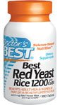 Doctors Best Best Red Yeast Rice 1200 mg with Coq10, 180-Count