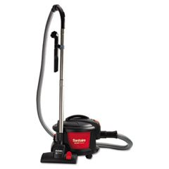 """Quiet Clean Canister Vacuum, Red/Black, 9.0 Amp, 11"""" Cleaning Path front-502691"""