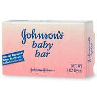 Johnsons Baby Soap Bar for Face & Body - 3 oz, 3 Pack