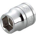 KTC (京都機械工具) 9.5mm (3/8インチ) ソケット (六角) 24mm B324