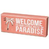 Beach-distressed Box Sign-