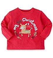 Pure Cotton Christmas T-Shirt