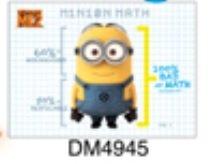 Magnets - Despicable Me 2 - Mionion Math