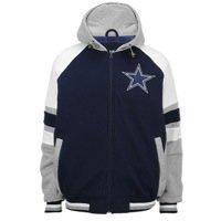 Dallas Cowboys Mens Fleece Hood Full Zip Jacket by DCM