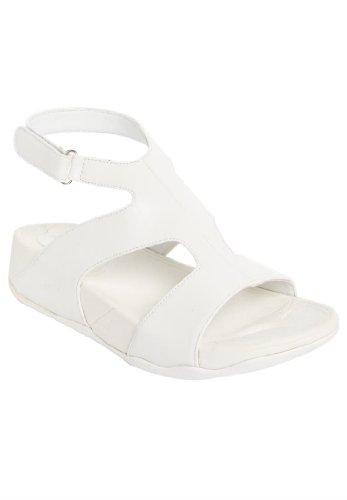 Comfortview Women'S Wide Venus Sandal (White,10 1/2Ww)