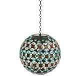 Geometric Sphere Solar Hanging Gazing Globe