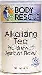 buy Body Rescue Alkalizing Tea Prebrewed Apricot -- 4 Oz