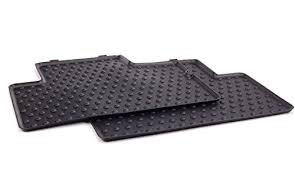 MINI Cooper Genuine Factory OEM 51470416194 REAR All Season Floor Mats 2007 - 2012 (set of 2 rear mats) (not for Clubman, Convertible or Countryman) (Mini Cooper Mats compare prices)