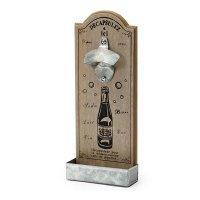 Flaschenöffner 30x12cm, Männergeschenk / zum befestigen an der Wand, ideal für Garten, Terasse, Wohnwagen u.s.w.