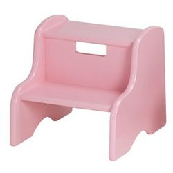 Personalized Step Stool - Color: Pink