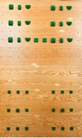 4 X 8 One Panel System Board - Intermediate (38 Holds) | Climbing Holds | Green