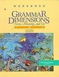 Grammar Dimensions Workbook 2 (0838451454) by Benz, Cheryl