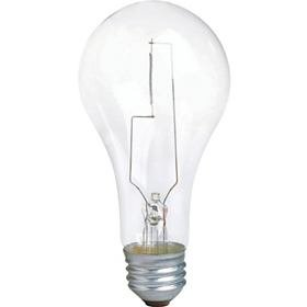 (12-Pack) 200-Watt Incandescent A23 Clear Medium Base Household Light Bulb