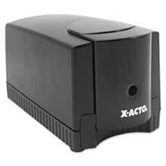 * Deluxe Heavy-Duty Desktop Electric Pencil Sharpener, Black/Gray