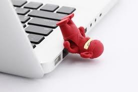 4GB Ninja RED Memory Stick USB 2.0 Flash Drive. Presented In a Free Metal Gift Box. by NUT