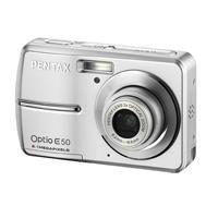Pentax Optio E50 8.1MP Digital Camera with 3x Optical Zoom (Silver)