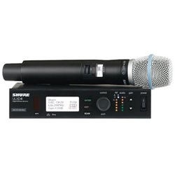 Shure Ulxd24/B87C Digital Wireless Handheld System With Beta 87C (G50 Band)