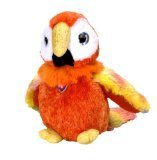 "Wild Republic Sweet and Sassy Macaw 8"" Plush"