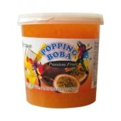 Passion Fruit Popping Boba (7-lbs)