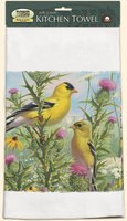 Goldfinches Kitchen Towel