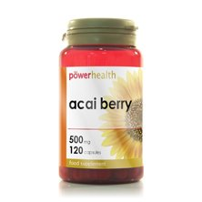 Power Health. Health, Acai Berry Extract, 120 Capsules.