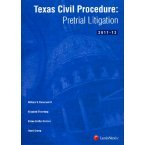 img - for Texas Civil Procedure: Pre-Trial Litigation book / textbook / text book