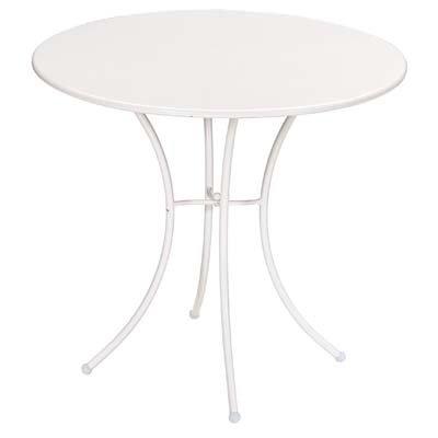 Emu 309060100 Pigalle Tisch ø80, pulverbeschichteter Stahl, weiss kaufen