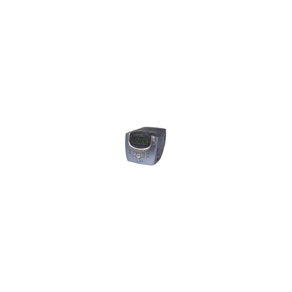Emerson CKD8300 Smartset Dual Alarm CD Clock Radio