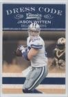 Jason Witten Dallas Cowboys (Football Card) 2010 Classics Dress Code #11 Amazon.com