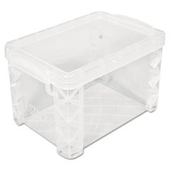 Super Stacker Storage Boxes, Hold 500 4 x 6 Cards, Plastic,