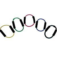 Thera-Band Latex Exercise Tubing Pack - Heavy - 1 Ex Heavy/1 Sp Heavy - Each 5'