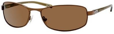 Fossil ROBERT BRONZE BROWN POLARIZED LENS 3KPVW Sunglasses
