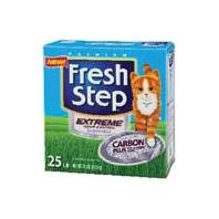 FRESH STEP CAT LITTER 261348 Fresh Step Extreme Odor Solution Scoop Litter Boxes for Cats, 25-Pound