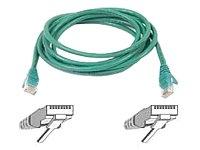 Belkin 7-Feet CAT5e Snagless Patch Cable (Green) by Belkin Inc.