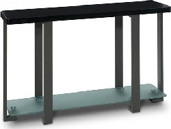 Cheap Avenue Six Terrace Black with Pewter Frame Console Table – Closeout (B0017LVJAG)