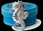 Grandway Honduras Bonjour Magnetic Key Finder Silver Seahorse