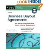 Business Buyout Agreements: Plan Now for Retirement, Death, Divorce or Owner Disagreements by Bethany Laurence J.D. Nolo Senior Website Editor and Anthony Mancuso Attorney (PAPERBACK)